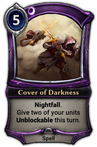 Cover of Darkness card