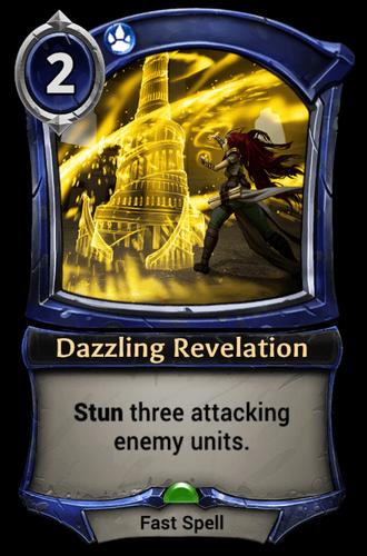 Dazzling Revelation card
