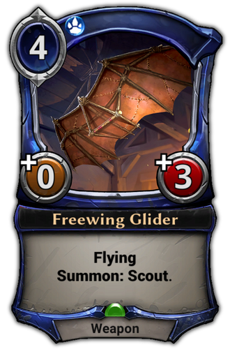 Freewing Glider card