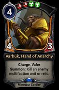 Varbuk, Hand of Anarchy - 1.53.1.8071c