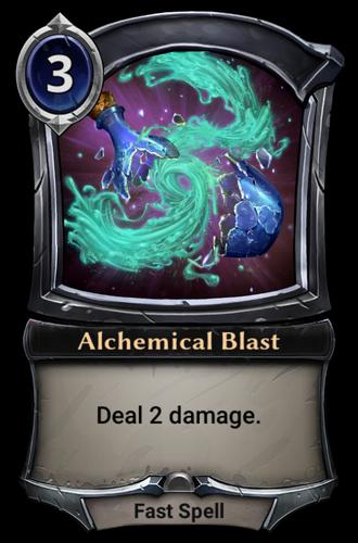 Alchemical Blast card
