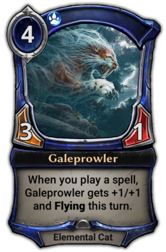 Galeprowler card