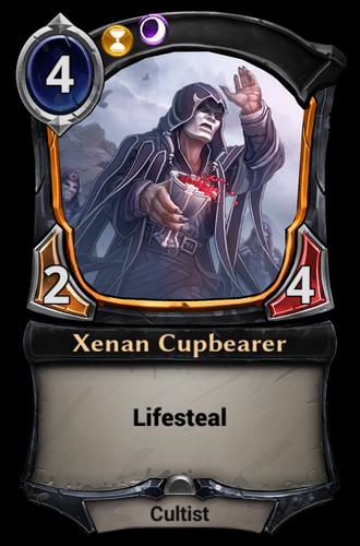 Xenan Cupbearer card