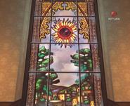 Mansion Glass Window