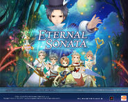Eternal Sonata Promotional Wallpaper - Cast