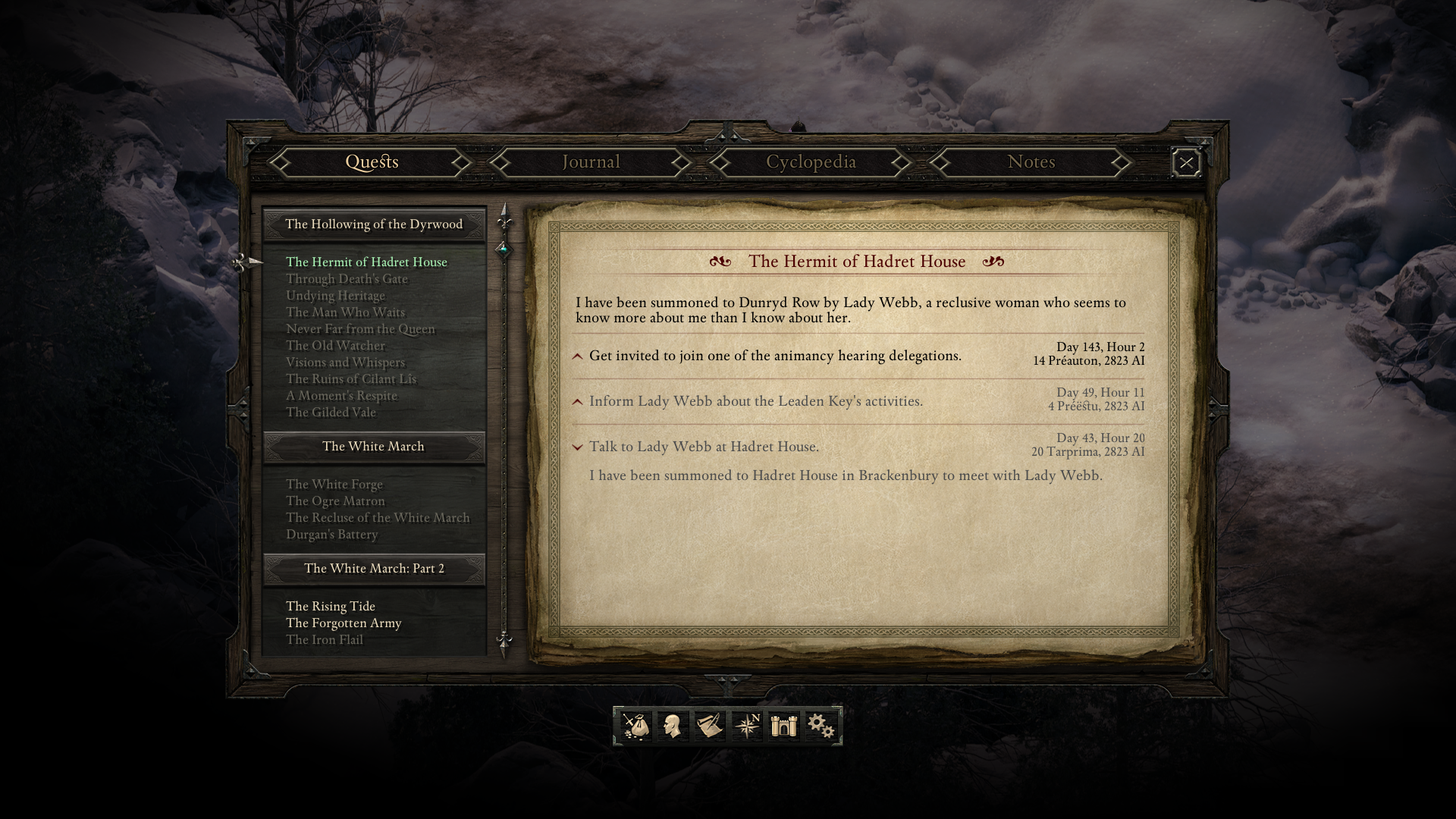 Pillars of Eternity quests - Official Pillars of Eternity Wiki