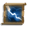 Poe2 scroll of crackling bolt icon.png