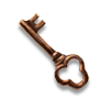 Poe2 key small bronze icon.png