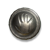 Poe2 small shield tuotilos palm icon.png