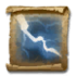 Scroll of Crackling Bolt