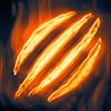 Poe2 wizard kalakoths minor blights burn icon.png