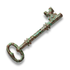 Poe2 key rusty bronze icon.png