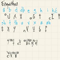 Engwithan language