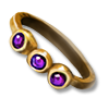 Poe2 ring gold amethyst icon.png