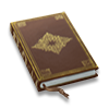 Poe2 book dec brown icon.png