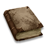Poe2 book tome dirty icon.png