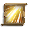 Poe2 scroll of sunbeam icon.png