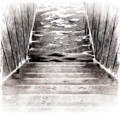 11 si floodedhall stairsdown.png
