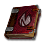 Poe2 grimoire black flame wizard icon.png