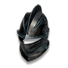 Poe2 helm plate blackened icon.png