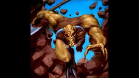 Hero Violent Male Minotaur Default