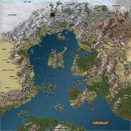 TPC World Map Areas