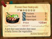 Stratum 1. Forest Deer Sukiyaki