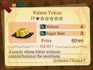 Stratum 1. Walnut Yokan