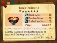 Stratum 6. Black Osuimono
