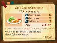 Stratum 3. Crab Cream Croquette