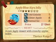 Stratum 3. Apple Blue Aiyu Jelly
