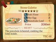 Stratum 5. Stone Galette