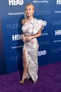 Sydney Sweeney attends LA Premiere Euphoria