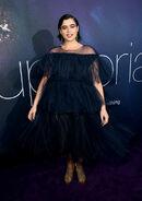 Barbie Ferreira attends LA Premiere Euphoria1