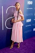Storm Reid attends LA Premiere Euphoria4