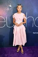 Storm Reid attends LA Premiere Euphoria7