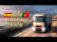 Euro Truck Simulator 2 - Iberia Gameplay Video -2 (TrackIR)
