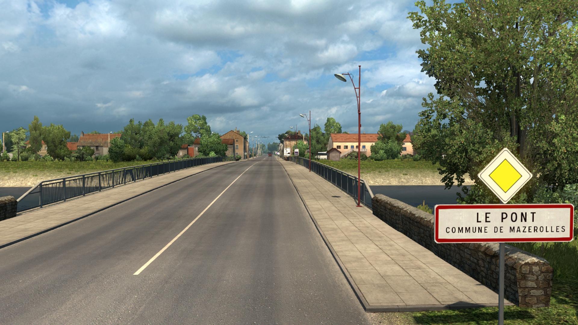 Le Pont, Mazerolles