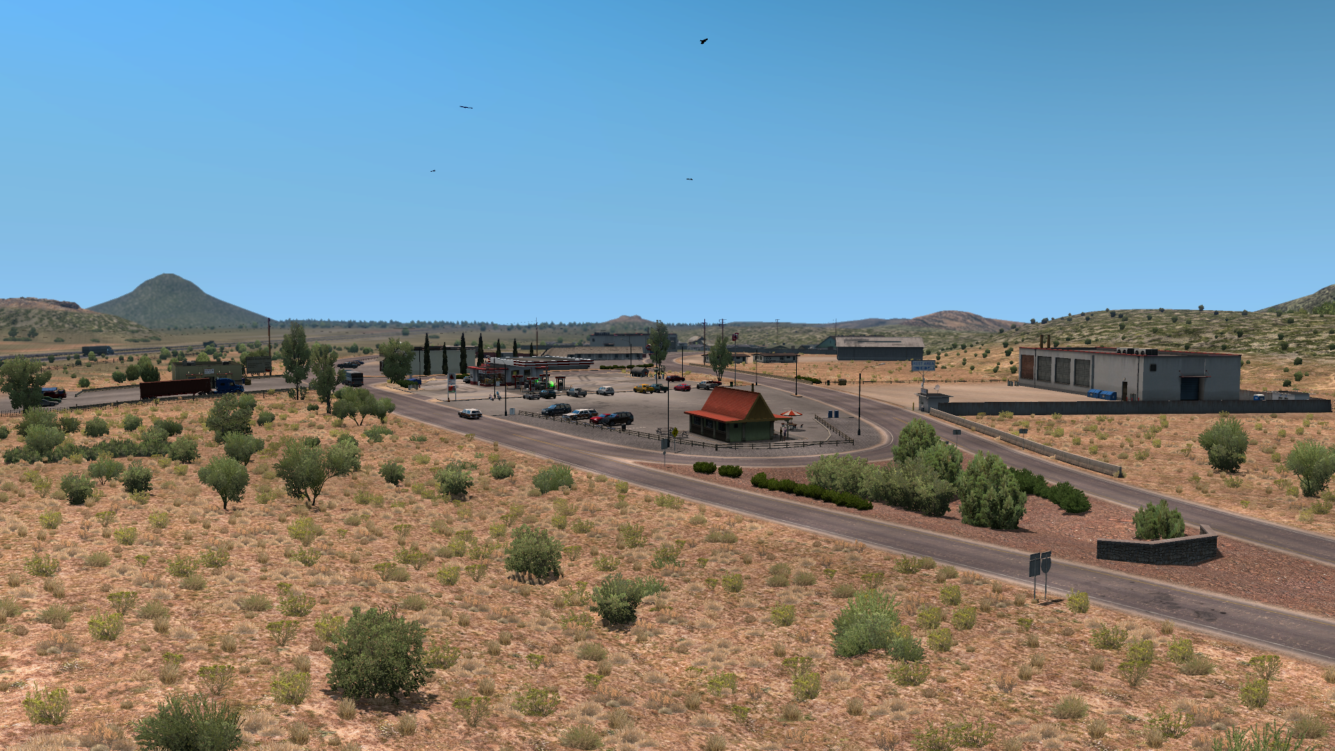 List of scenery towns in American Truck Simulator