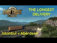 ETS2 - The Longest Delivery - Istanbul » Aberdeen