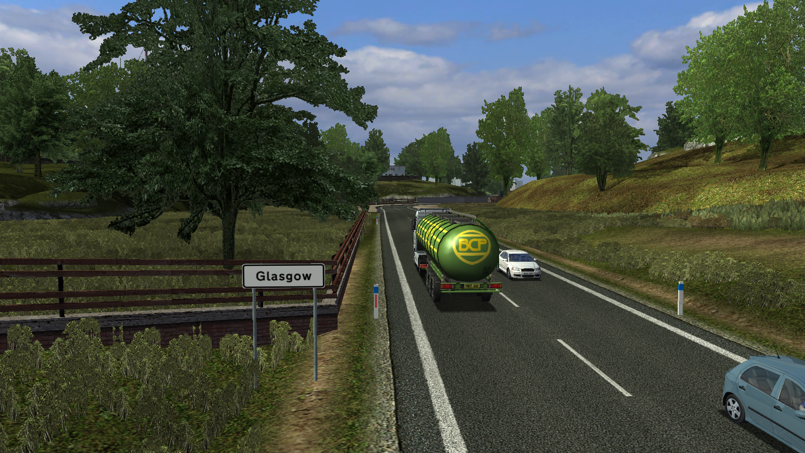 Glasgow/UK Truck Simulator