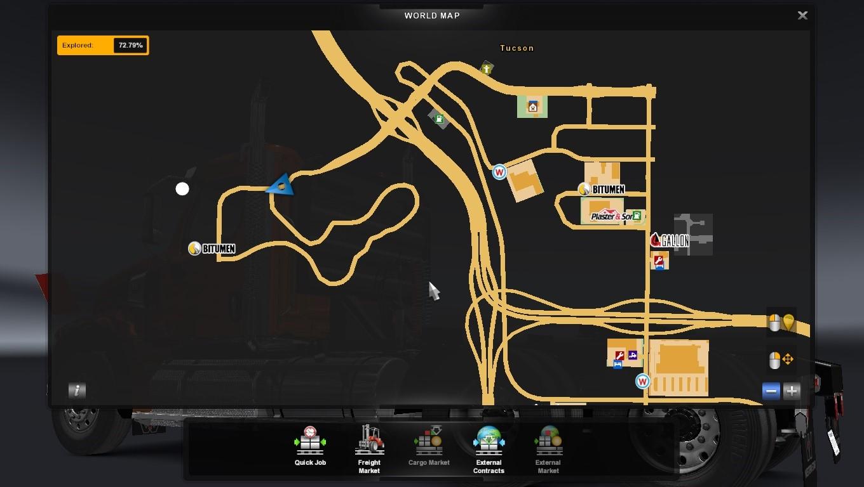 Truck Racing circuit
