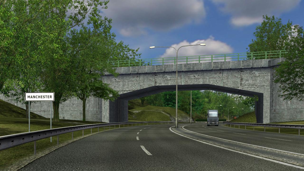 Manchester/Euro Truck Simulator