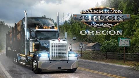 American Truck Simulator - Oregon launch trailer