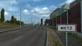 Metz entrance