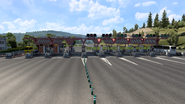 Spain toll gate