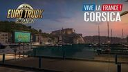 Corsica A free addition to ETS2 Vive la France !