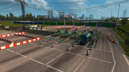 Poland Highway Toll gates