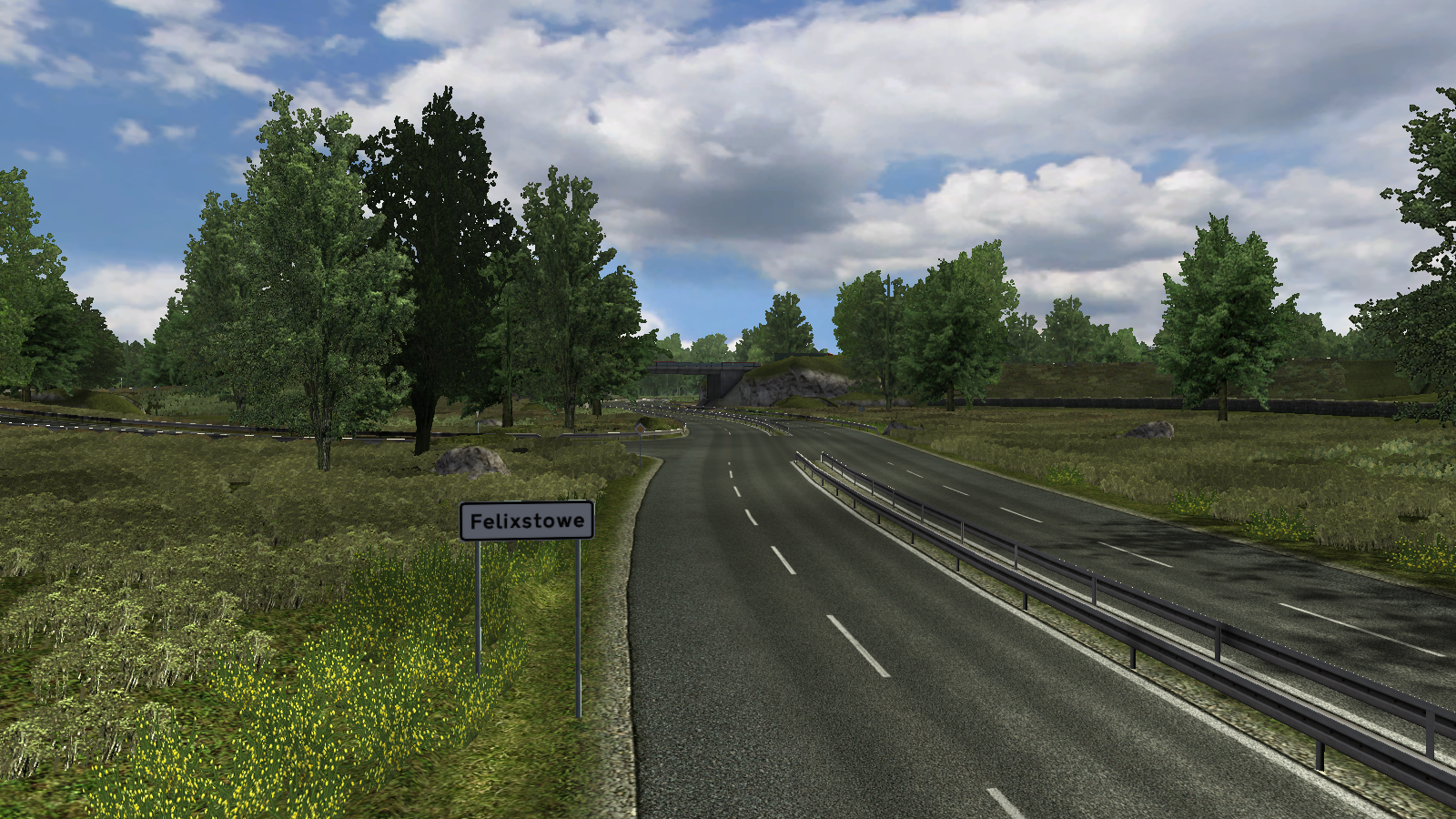 Felixstowe/UK Truck Simulator