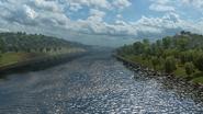 Rhône from minor road